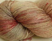 Limited edition merino silk laceweight yarn - Bloodfeud