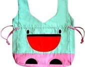 ON SALE - Drawstring Bag - LOF Merry Monster Sac