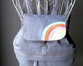 Backpack - Over The Rainbow Petit BackPack (GRAY)
