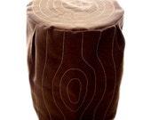 Stool Cover - Stumpie (Dark Brown)
