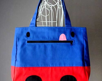 Made Upon Order - LOF Cheeky Monster Tote (4 Weeks Turnaround)
