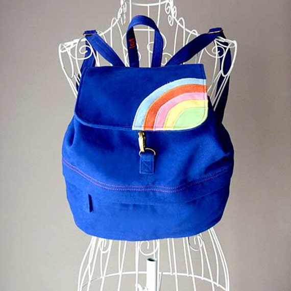 Backpack - Over The Rainbow Petit BackPack (Royal Blue)