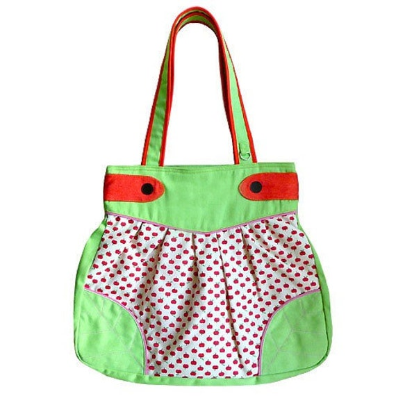 Mungo Wanderlust Leaf Bag (RED DELICIOUS APPLES) - CLEARANCE SALE