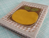 Modern Apple Harvest Linen Card Case