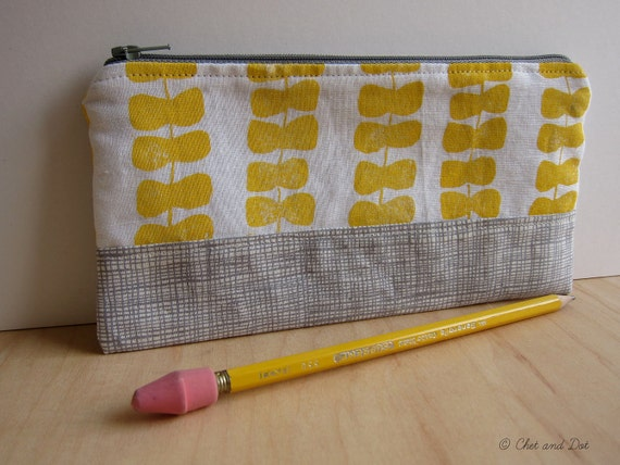Modern Ribbons Pencil Pouch
