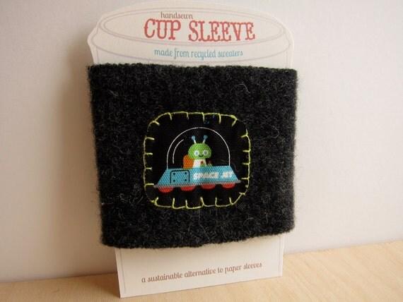Space Alien Cup Cozy