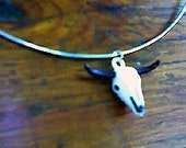 Cattle Skull Necklace