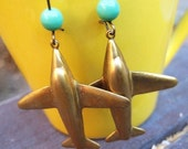 Plain Plane Earrings