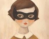 Kitten Bandit Print 8x10 by Emily Winfield Martin
