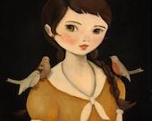Ava Print / Oddfellow's 2012 Portraits - 8x10