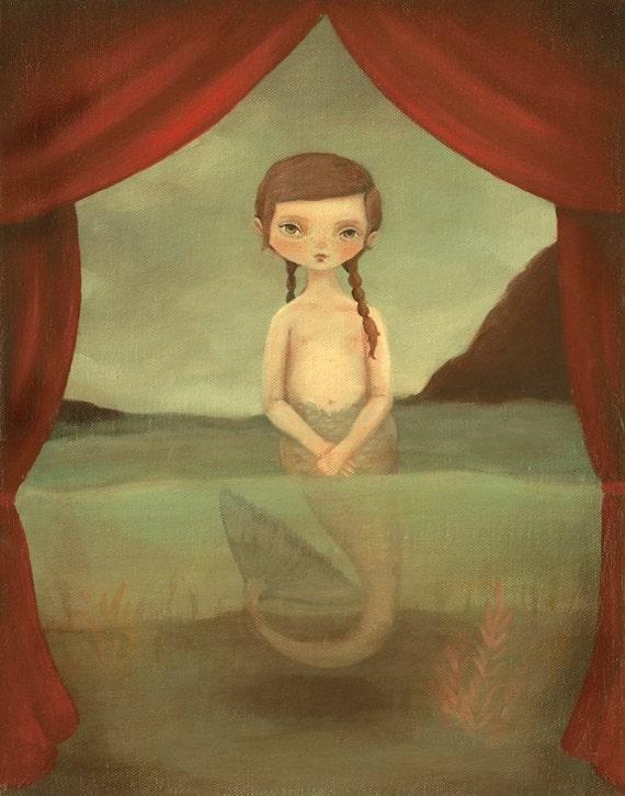 The Figi Mermaid  Print