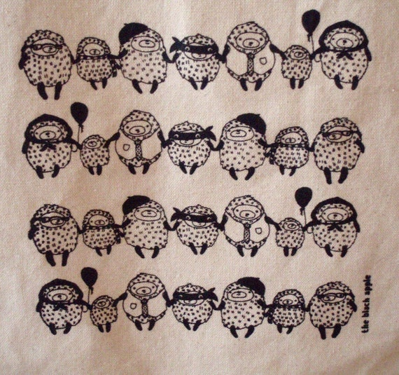 THE LAST FEW  Hedgehog Family Totes