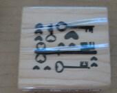 Rubber stamping scrapbooking cardmaking stamp