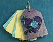 A SweetHeart of a Notebook  Tag notebook by JLVS