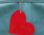 Valentine's Day Red  Heart Luggage/Bag Tag