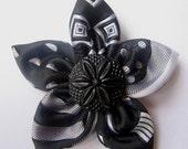 Dress-for-success flower pin