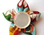 Kimono star flower  pin