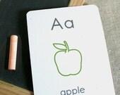 small alphabet flash cards - printable pdf