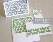 Ripples Stationery - SVG and DXF files for digital cutters
