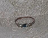 Copper & silvertone Wire Ring