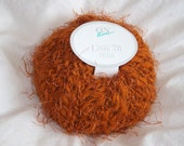 "Reserved for samwestley (Online Linnie ""Vega"" - Wool and Polyester Eyelash Yarn - Orange)"