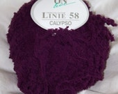 "Reserved for samwestley (Online Linnie ""Calypso"" - Nylon Fuzzy Yarn - Purple)"