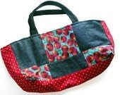 Cherries Patchwork Tote