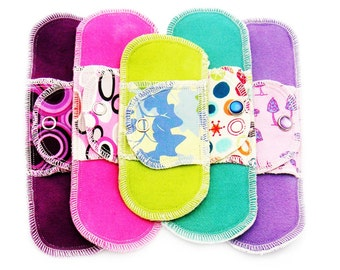 Organic Light Days Collection Moonpads Cotton Cloth Menstrual Pads