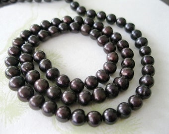 Rich Dark Chocolate Round Pearls 6mm or 5mm
