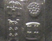 Four in One Massage Bar Soap Mold