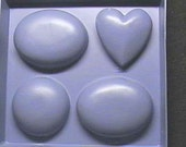 Four Bar Three Shapes Soap Mold