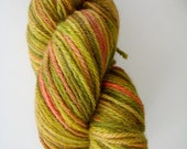 Swamp Rat is 223 yds hand dyed worsted weight yarn
