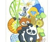 Bamboo Bunch Print