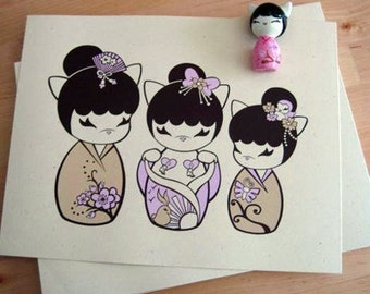Sweetest Blossom Silk Screened Print