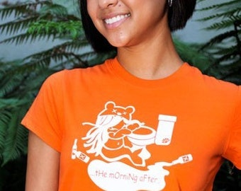 Tangerine Morning After Tee