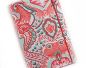 Kindle 3 cover- Frog Prince Damask- fits latest generation- hard sided