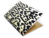 passport cover - Change Your Spots leopard print - passport holder
