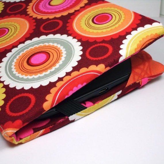 Nook Touch Cover - Hot Dots - hard sided Nook SimpleTouch Case - ready to ship