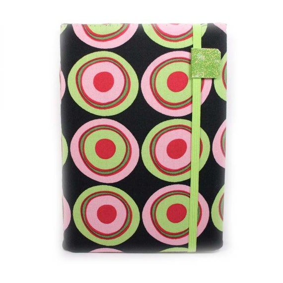 Kindle Touch Cover - In The Limelight - hard sided kindle touch case with inside pockets - ready to ship