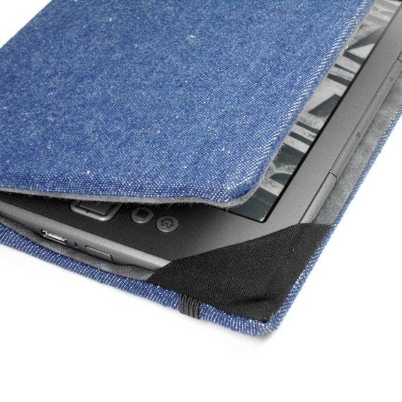 Kindle Cover - Dark Wash Denim  - fits small kindle 4 without keyboard - unisex, men's ereader hardcover