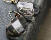 Vintage Chandelier Drop Crystal Earrings