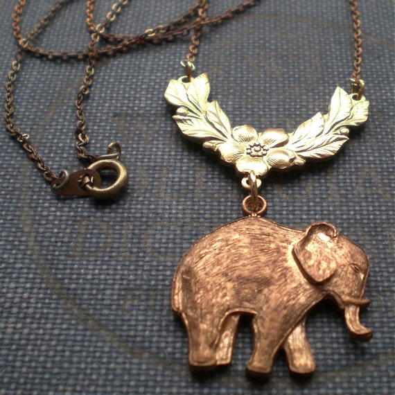 Woolly Mammoth Necklace - Natural History Elephant