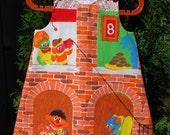 Custom Old Skool Sesame Street Sundress Size 6 months to 6 years