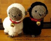 Crochet Pattern - Little Lambkins
