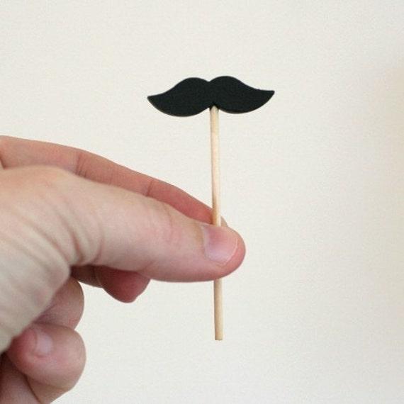 The Miniature Tiny Mustache Pick