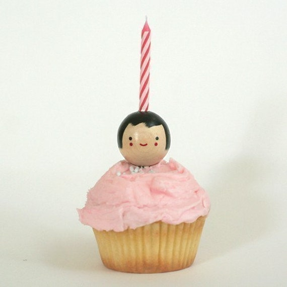 Cupcake Cuties Candle Holder