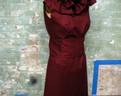 Drunk (wine colored) Circus Dress