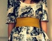 SALE Sophie Corset Belt // Golden Yellow