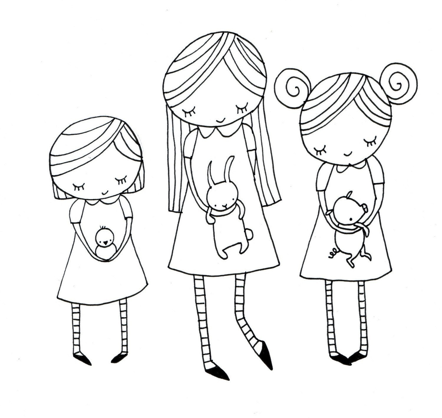 Coloring Pages For Tomgirl