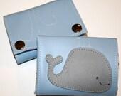 Vinyl Whale Wallet